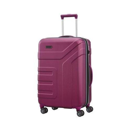 Travelite vector walizka średnia 79/91l pflaume 4-koła