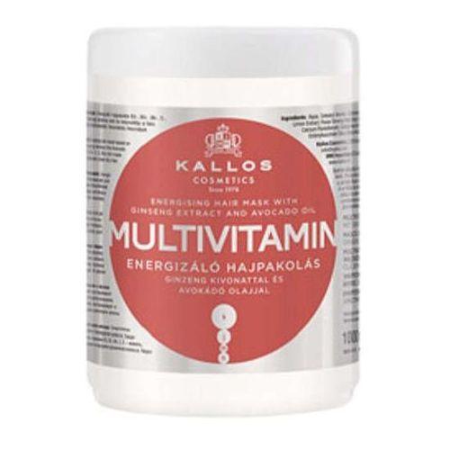 Kallos kjmn multivitamin multiwitaminowa energizująca maska do włosów 1000ml