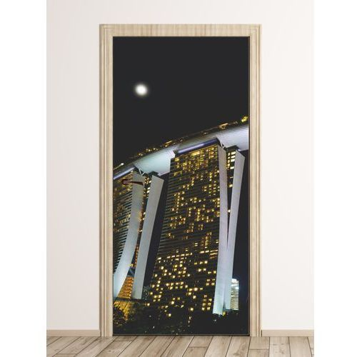 Wally - piękno dekoracji Fototapeta na drzwi wieżowiec w szanghaju fp 6291