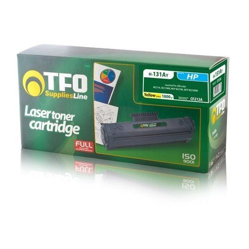 Toner TFO H-131AY HP-131A (CF212A) 1.8K do HP Laserjet pro 200 Color M251n, MFP M276n, MFP M276nw (5900495247865)