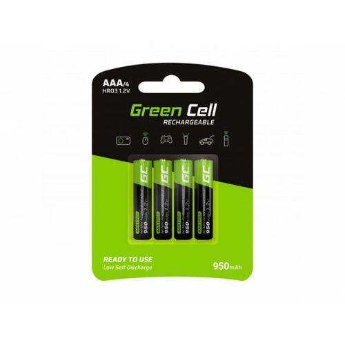 Green Cell Akumulator Green Cell 4x AAA HR03 950mAh