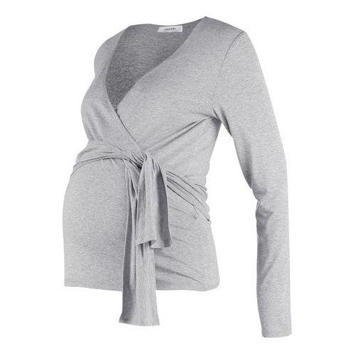 Zalando Essentials Maternity Bluzka z długim rękawem mid grey melange