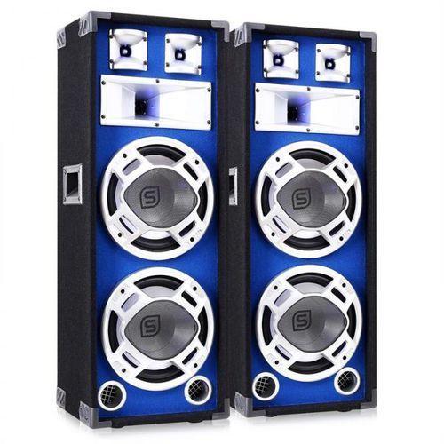 Skytec Para 25cm głośników pa efekt świetlny 2x800w kolumny