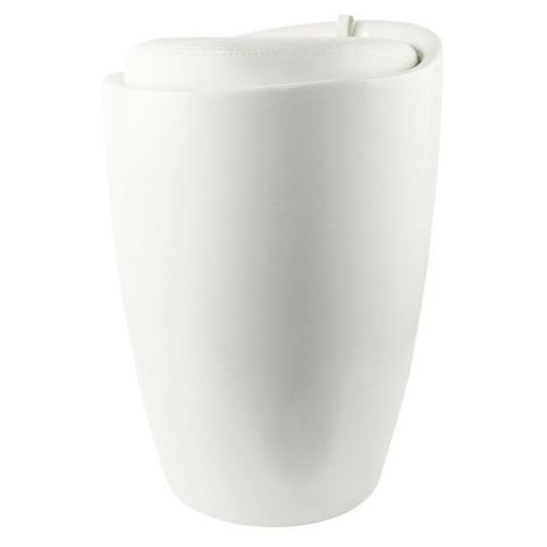 Sepio Kosz / pufa na bieliznę prince white (5901583503658)