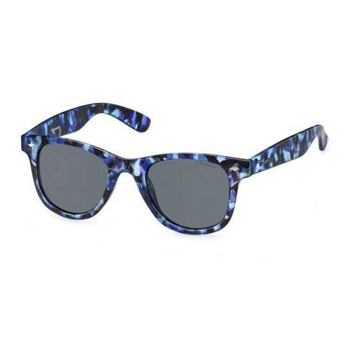 Okulary przeciwsłoneczne uniseks POLAROID - 227456-76, kolor żółty