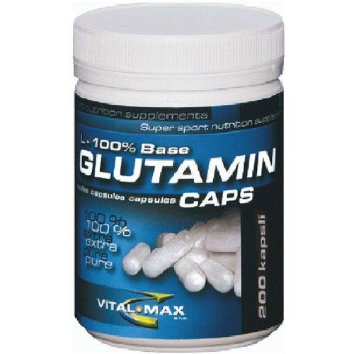 Vital max Vitalmax l-glutamin mega caps - 300 kaps