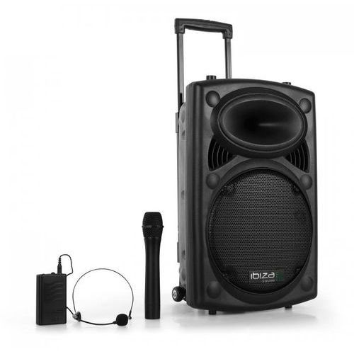 """Port12VHF-BT 30cm (12"""") wieża PA z USB SD AUX MP3 B"""