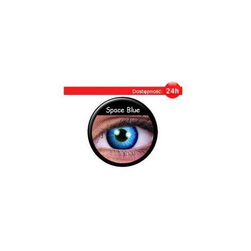 Crazy Wild Eyes – Space Blue - 2 sztuki (soczewka kontaktowa)