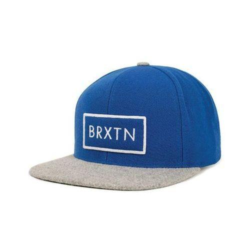 czapka z daszkiem BRIXTON - Rift Royal/Heather Grey (0837) rozmiar: OS