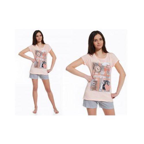 Piżama damska mea: łosoś marki Cornette
