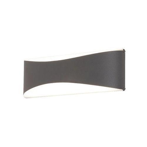 Kinkiet Rabalux Birmingham 8795 lampa zewnętrzna 1x10W LED IP65 ciemny szary, 8795