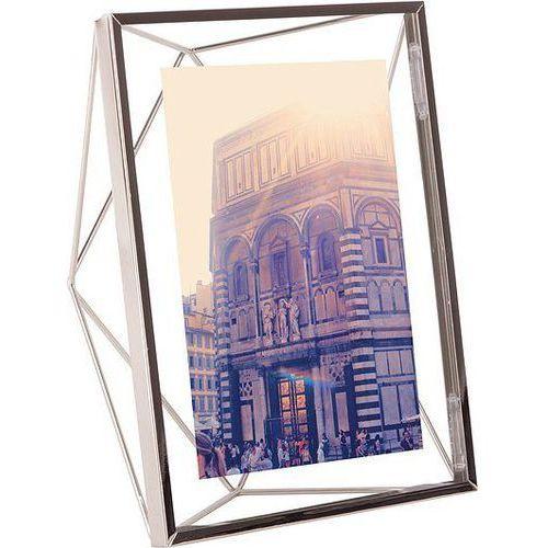 Ramka na zdjęcia prisma 13 x 18 cm chromowana marki Umbra