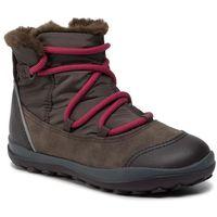 Śniegowce CAMPER - Peu Pista Kids GORE-TEX K900217-001 S Grey, kolor szary