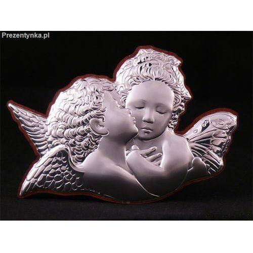 Ikona Dwa aniołki na Chrzest