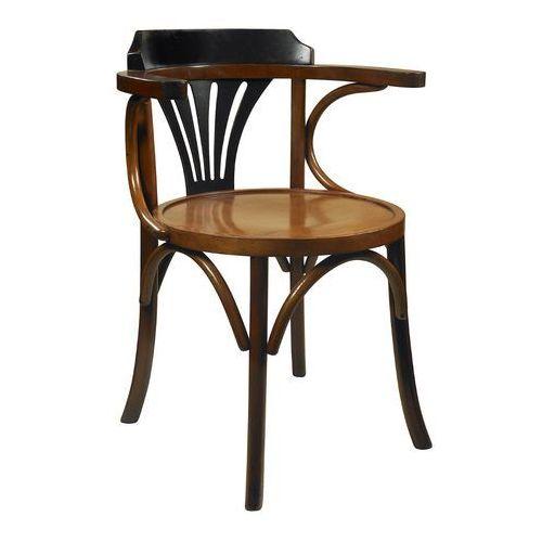 Authentic models krzesło navy chair, czarny/miodowy mf046z