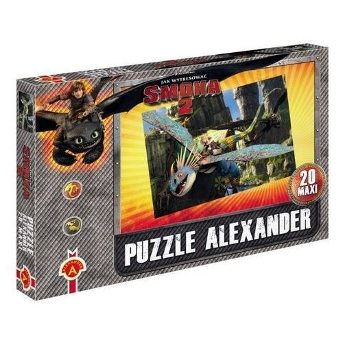 Alexander Puzzle maxi jak wytresować smoka 2 pościg alex (5906018010107)