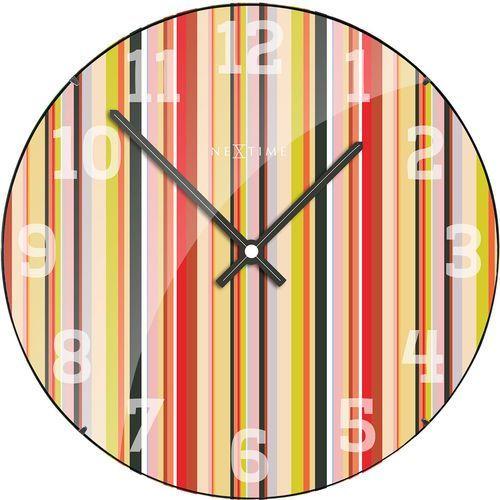 Zegar ścienny Smithy Dome Nextime 35 cm (3168) (8717713017349)