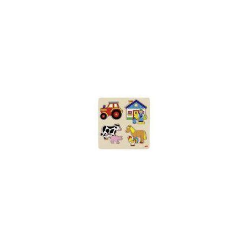 Puzzle gospodarstwo, 12 el. (4013594579025)