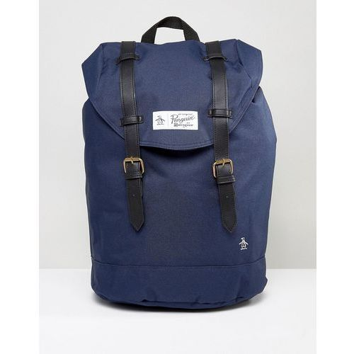 Original Penguin Twin Strap Backpack - Navy