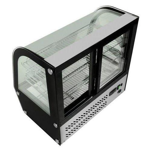 Witryna ekspozycyjna chłodnicza | 120L | 230V | 0/+12 °C