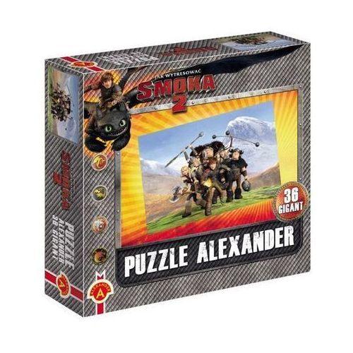 ALEXANDER Puzzle 36 Giga nt Smoki 2Ekipa w górach (5906018010015)