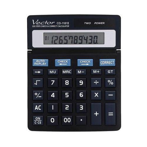 Kalkulator 10pozycyjny CD1181 Vector. Najniższe ceny, najlepsze promocje w sklepach, opinie.