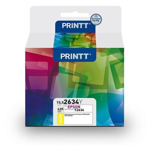 Tusz printt do epson nae2634y (t2634) yellow 15,5 ml marki Ntt system