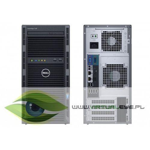 T130 e3-1220v6 8gb 2x1tb h330 dvdrw 3y marki Dell