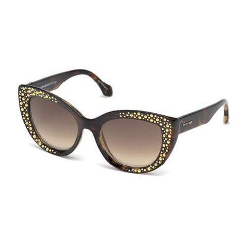 Okulary Słoneczne Roberto Cavalli RC 1050 CHITIGNANO 52G, kolor żółty