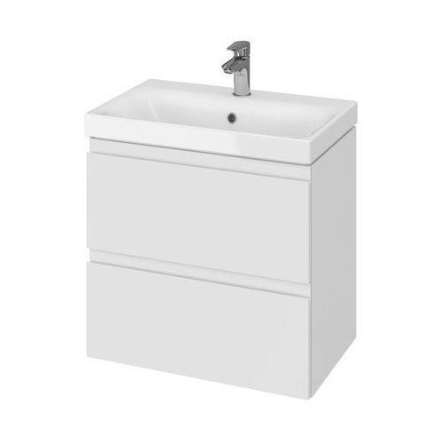 Cersanit set szafka moduo biały połysk + umywalka moduo slim 60 s801-227