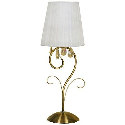 Candellux Lampa stołowa dynasty 41-09128 patynowy + darmowy transport!