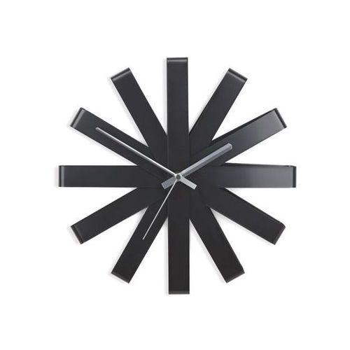 Umbra Zegar ribbon czarny