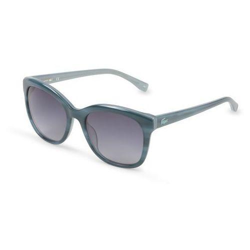 Okulary przeciwsłoneczne damskie l819s zielone marki Lacoste