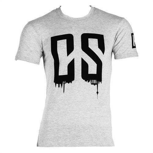 beforce t-shirt treningowy dla mężczyzn rozmiar m szary melanżowy od producenta Capital sports