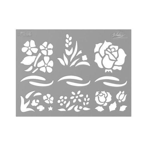 Jeger Szablon samoprzylepny kwiaty letnie xs nr 145