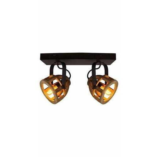 matrix 86613/76 plafon lampa sufitowa 2x28w e14 czarna marki Brilliant