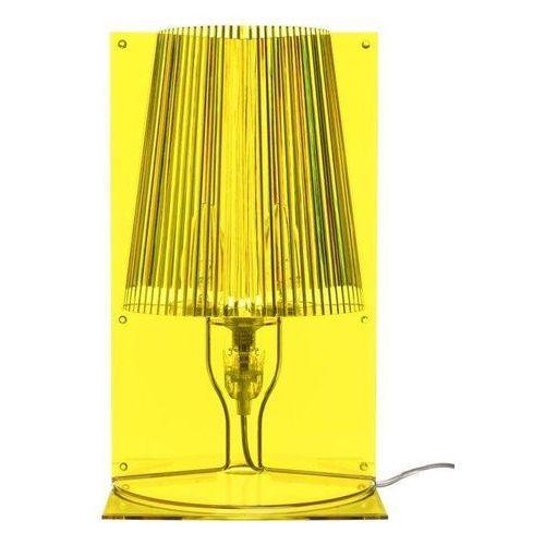 Kartell Lampa take żółta