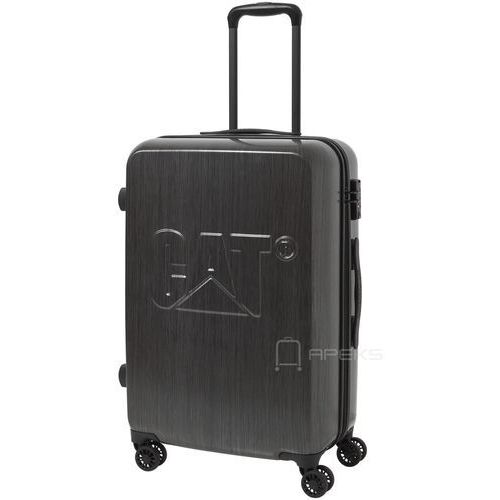 cat-d średnia walizka na kółkach 65,5 cm cat/ grafitowa - brushed steel marki Caterpillar