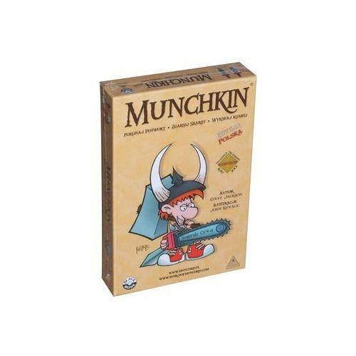 Black monk Munchkin. edycja polska. gra karciana