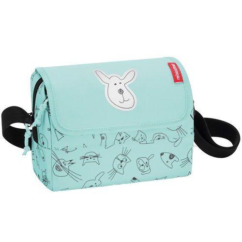 Reisenthel Torebka dla dzieci everydaybag cats and dogs miętowa (rif4062)