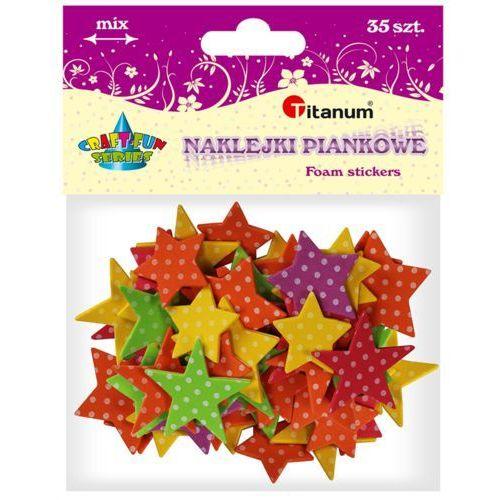 Naklejki piankowe gwiazdki - Titanum