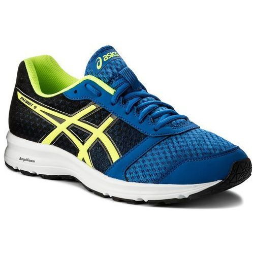 Buty ASICS - Patriot 9 T823N Victoria Blue/Safety Yellow/Black 4507