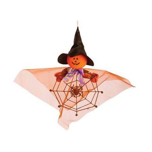Dyniowy duch z pajęczyną - 40 cm marki Carnival