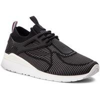 Fila Sneakersy - overpass 2.0 knit 1rm00121.003 blk/wht/dksh