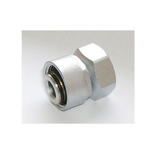 Schlosser Złączka zaciskowa do rury stalowej gw m22x1,5 x gw 1/2 6027 00002.02 satyna