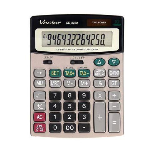 Kalkulator 12pozycyjny CD2372 Vector, ZI5200. Najniższe ceny, najlepsze promocje w sklepach, opinie.