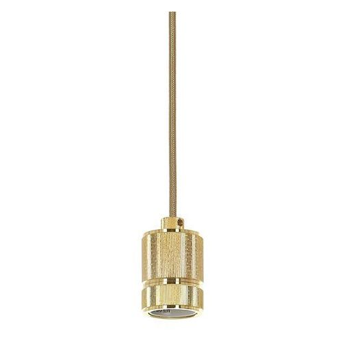 Lampa wisząca casa ds-m-010 gold zwis oprawa 1x60w e27 złoty marki Italux