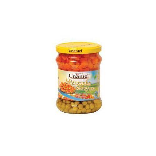 Mieszanka warzywna marchew z groszkiem 440 g Unamel (5902468100252)