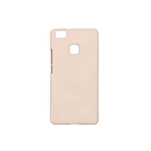 Huawei p9 lite - etui na telefon soft feeling - piaskowy róż marki Mercury goospery
