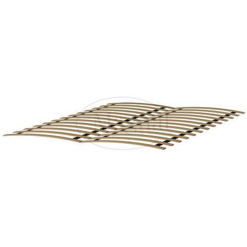 Łóżko drewniane Niwa 140x200 białe